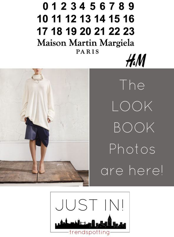 Maison Martin Margiela H&M Collection Look Book Photos