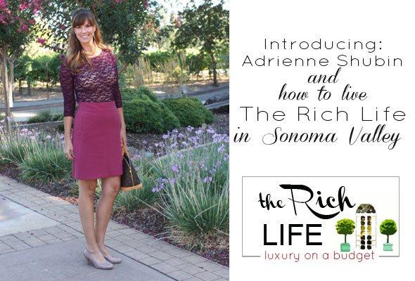 Sonoma valley lifestyle blog