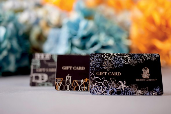 Luxury Hotel Gift Card (Ritz-Carlton)