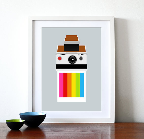 modern art, posters, print poster, holiday gifts