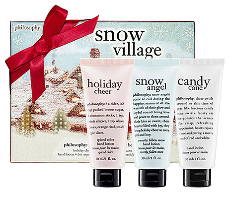 christmas gifts for women, snowbunny gifts, peppermint hand lotion,