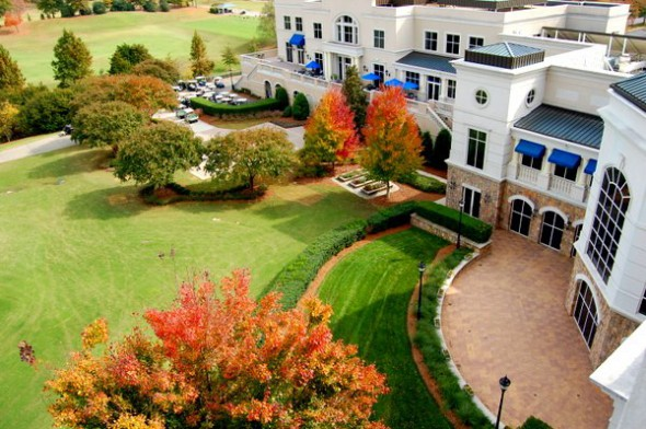 Ballantyne Hotel in  Charlotte, NC, A Starwood Luxury  Collection Hotel