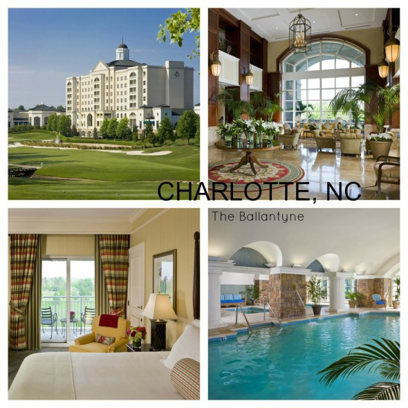 Starwood Luxury Collection, Ballantyne Hotel and Lodge in Charlotte, NC