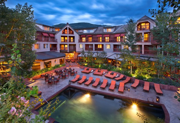 Preferred Boutique Hotel, The Little Nell, Aspen Colorado