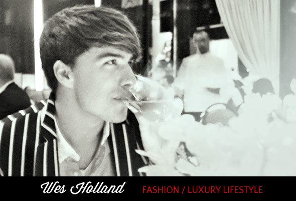 Wes Holland, fashion and luxury lifestyle writer / Skimbaco Lifestyle