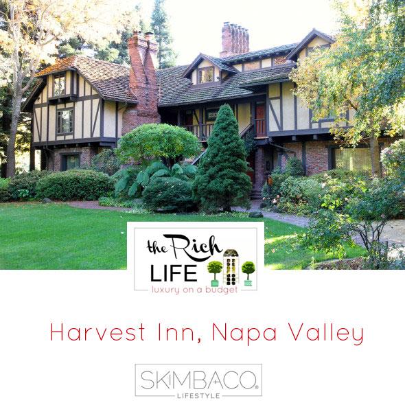 Harvest Inn, Napa Valley, wine travel, travel in California