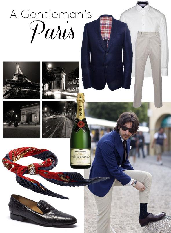 how to dress in Paris for men, men's fashion, parisian style, Paris, France