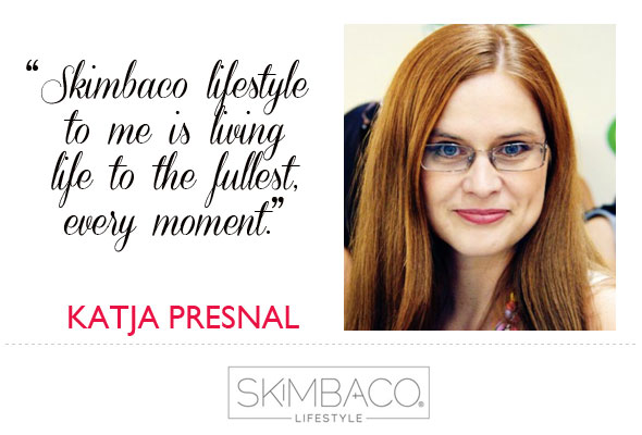 Owner of Skimbaco Lifestyle, Katja Presnal