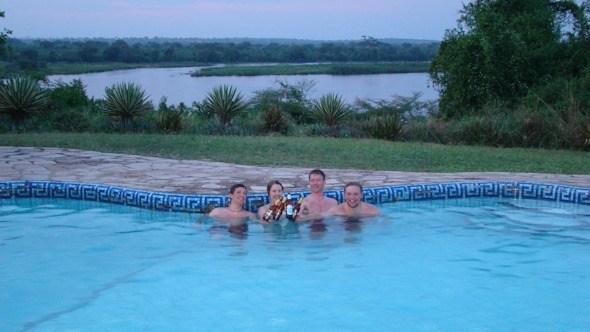 Relaxing at the Nile Safari Lodge in Uganda I @SatuVW I Destination Unknown