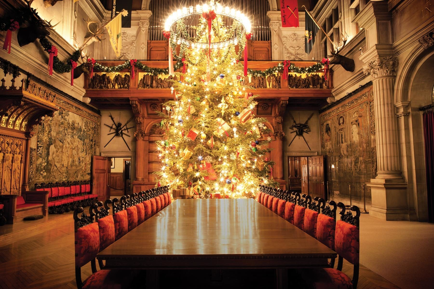 Biltmore Christmas, Asheville, NC