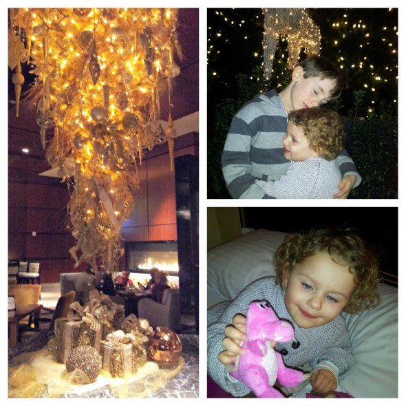 Christmas memories at Ritz-Carlton, Charlotte, NC