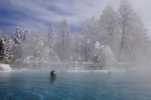 Spa Topolsica, Slovenia in the winter I Visit Slovenia