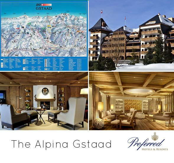 The Alpina Gstaad Preferred Hotels, luxury ski vacation, holidays, european ski vacation, gifts for skiers