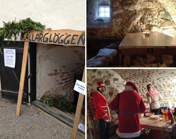 glögg, mulled wine, glögi, cellar, castle