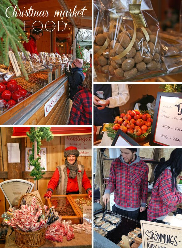 Ekenäs slott, julmarknad, Ekenäs castle Christmas Market, Scandinavian Christmas foods, Holiday foods, roasted nuts