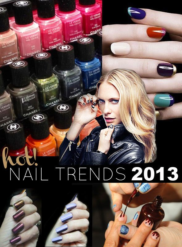 12 Hot Nail Trends for 2013