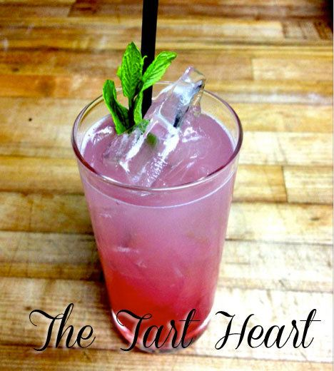 the tart heart cocktail