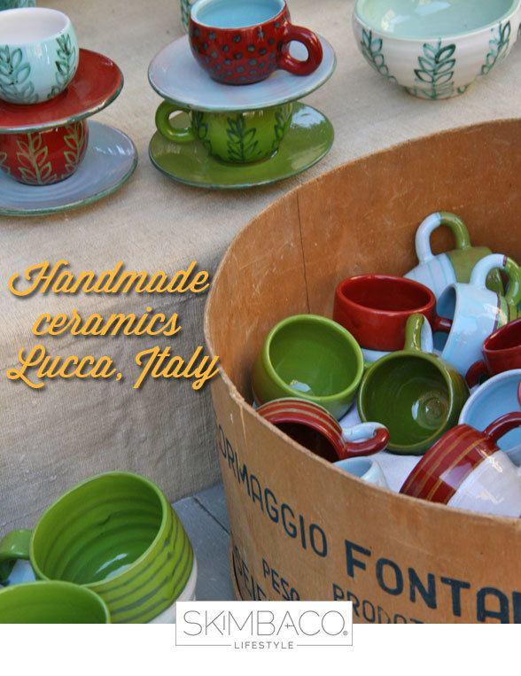 ceramics tuscany