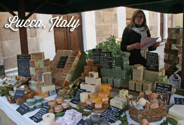 Lucca, Italy, Craft Market