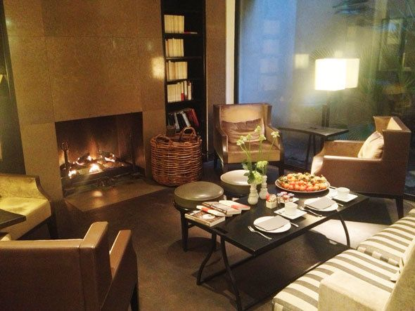 Breakfast at the Hotel Montalembert