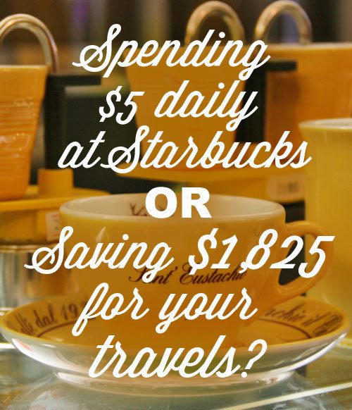 5$ daily save adds up to $1,825 annually