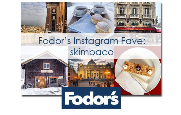 Fodor's follow favorite Instagram travel account: Skimbaco, travel blogger on Instagram