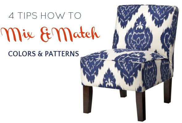 tips how to mix and match colors and patterns at home