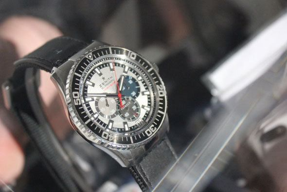Felix Baumgartner's watch at Baselworld