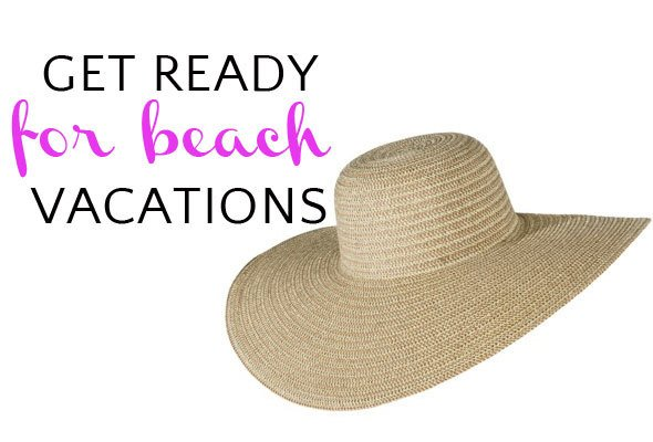 beach vacation shopping
