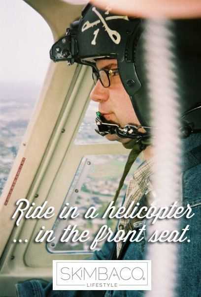 Bucket list: ride a helicopter
