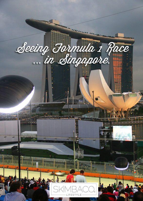 Bucket list: watch formula 1 race in Singapore