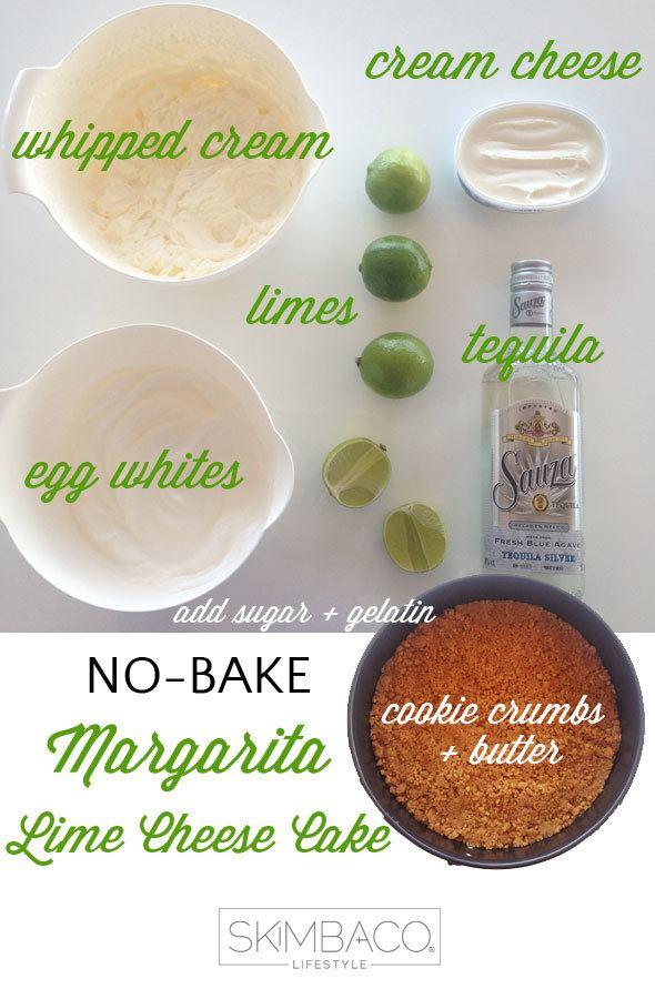 how to make no-bake cheese cake / key lime pie