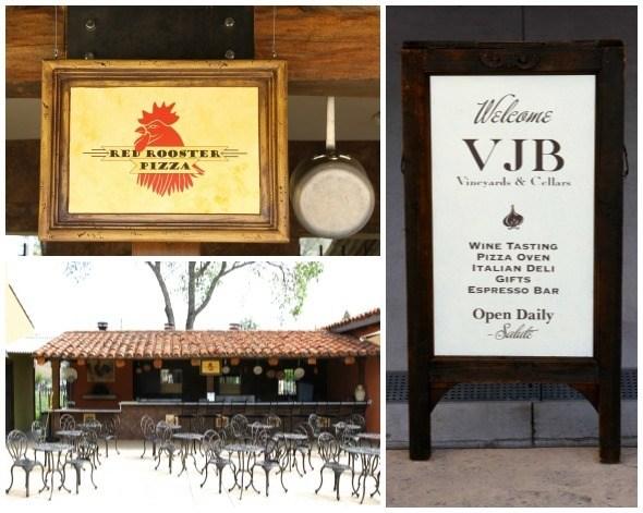VJB Vineyard and Cellars Pizza