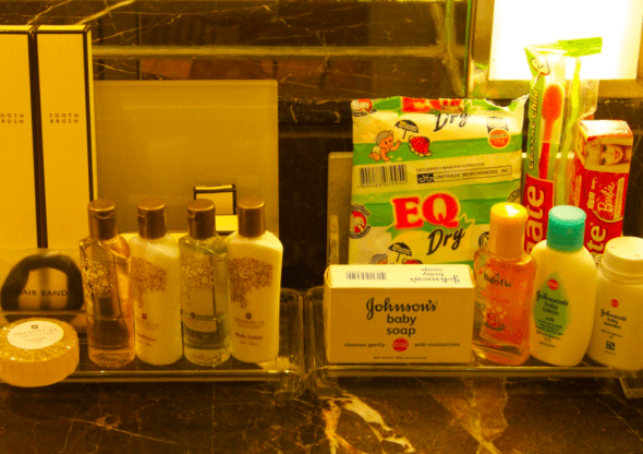 Shangri-La Cebu - kids toiletries
