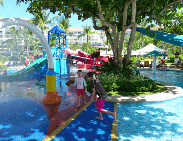 Shangri-La Mactan water play area