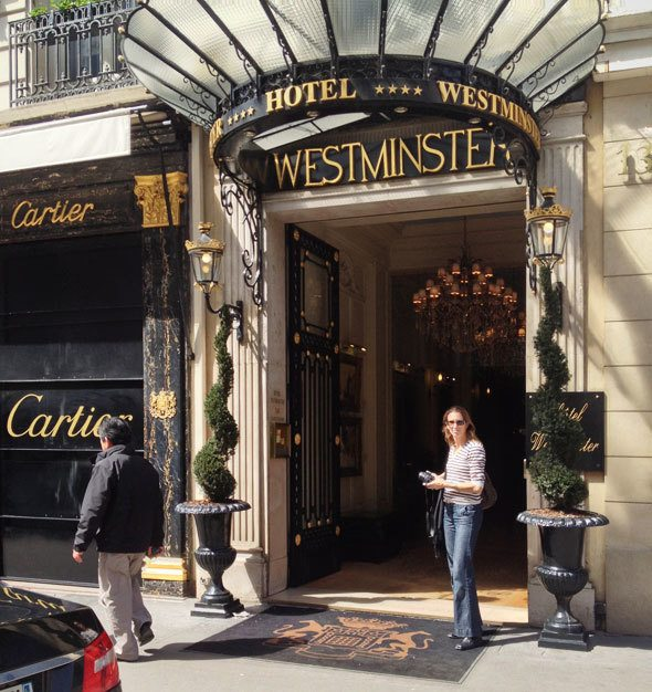Paris Historic Hotel Review: Hotel Westminster - Skimbaco Lifestyle ...
