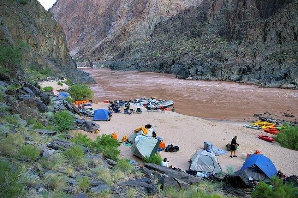 Camping on the Grand Canyon I @Gene17Kayaking