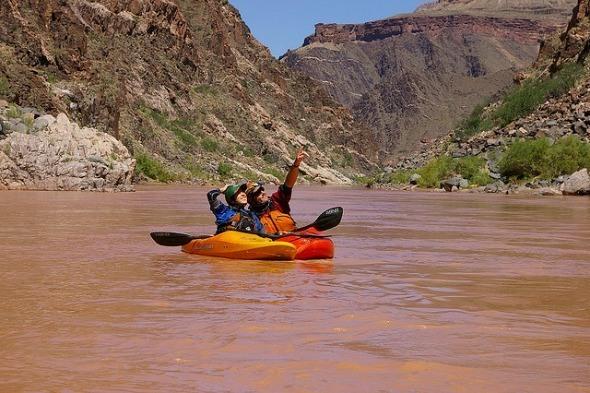Kayking on the Grand Canyon I @Gene17Kayaking