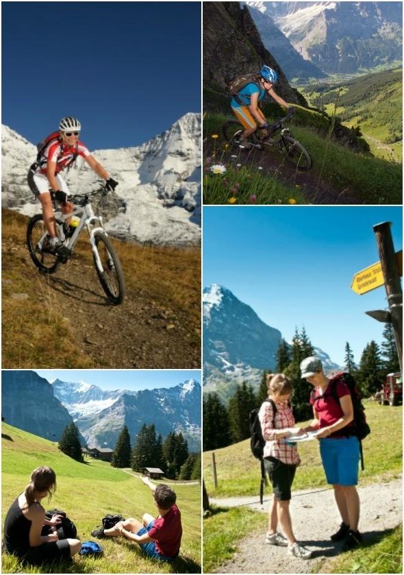 Outdoor Activities in Jungfrau Region in Switzerland I All images: Jungfrau Region