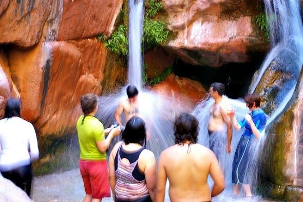 Shower break on the Grand Canyon I @Gene17Kayaking