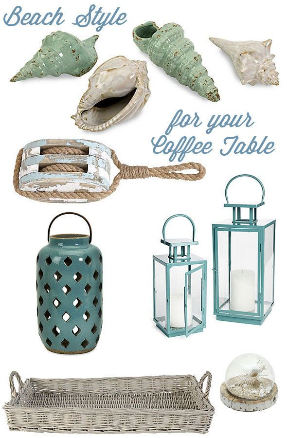 Amazing Coastal Decorating Ideas For Your Coffee Table. Products From One Kings  Lane Http:/