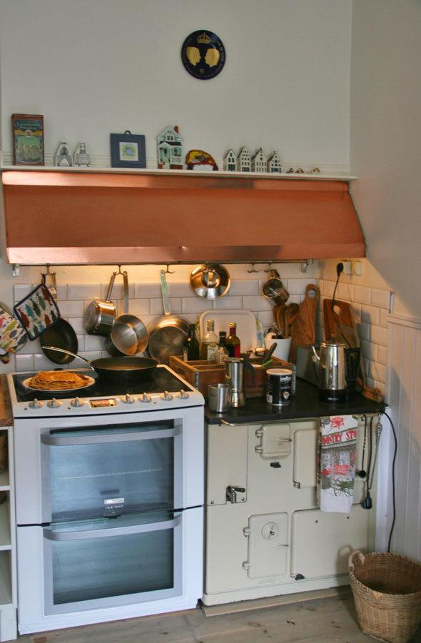 Country kitchen stove