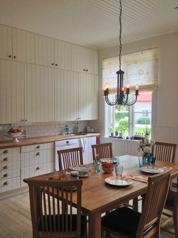 Swedish country kitchen