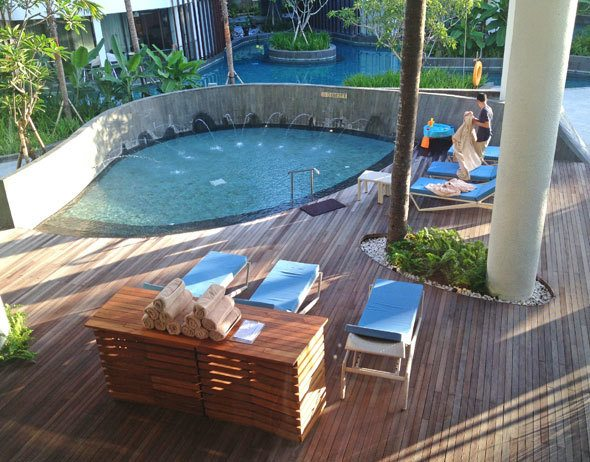 pool at the LeMeridien Bali
