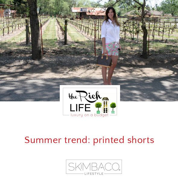 Summer trend: printed shorts