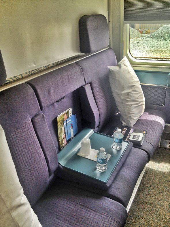 via ral biz class cabin