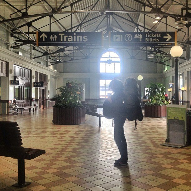Halifax, Nova Scotia train station