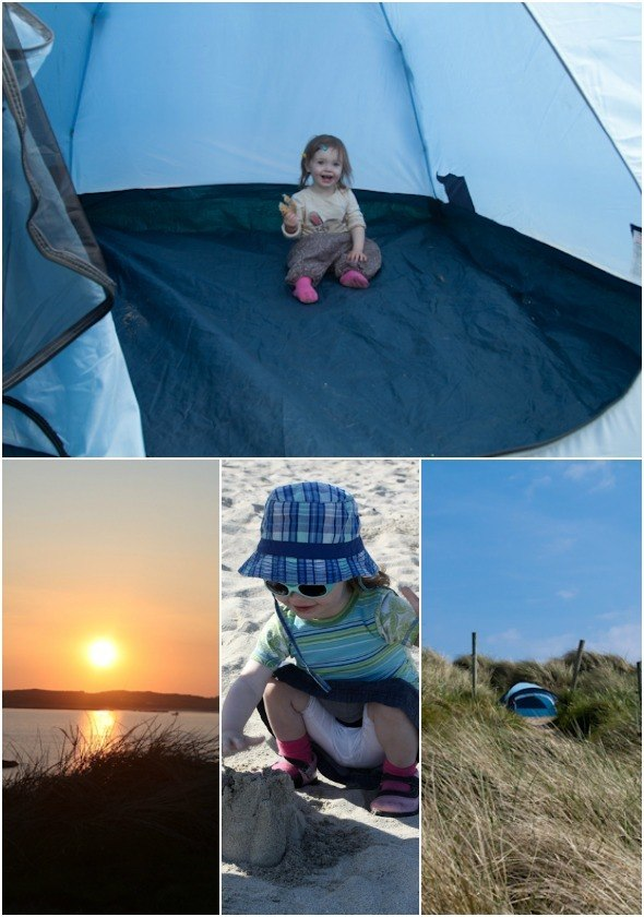Camping with toddler in Ireland I @SatuVW I Destination Unknown