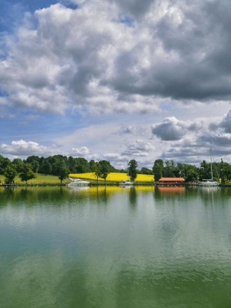 Göta kanal. Sweden.