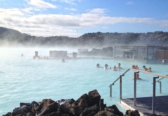 Blue Lagoon Iceland. Travel photo by @katjapresnal